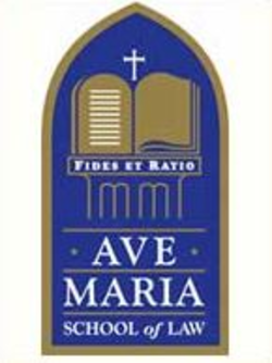Ave Maria School of Law Logo
